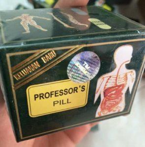 Thuốc professor pills hộp màu xanh