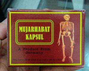 Thuốc mujarhabat kapsul hộp màu đỏ